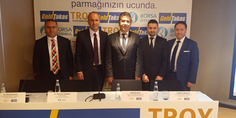 Turkey's first BORSA ISTANBUL integrated online physical trading system GOLDTAKAS